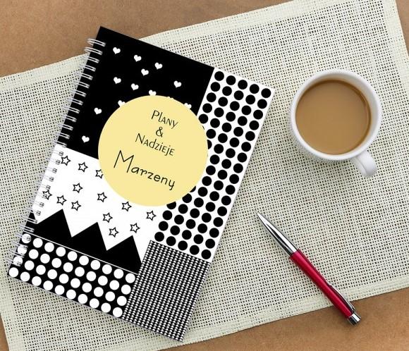 notatnik z twoim nadrukiem