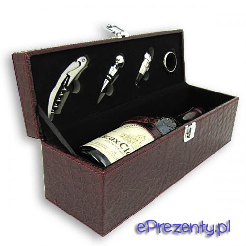 Zestaw dla miłośników wina - Prezent z okazji Dnia Ojca