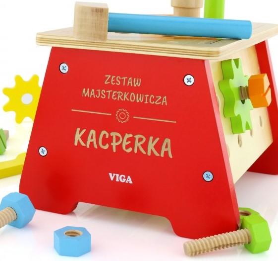 zestaw majsterkowicza dla dziecka
