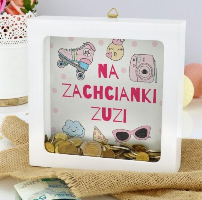 personalizowana skarbonka dla dziecka
