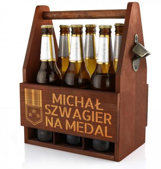 prezent dla szwagra skrzynka na piwo