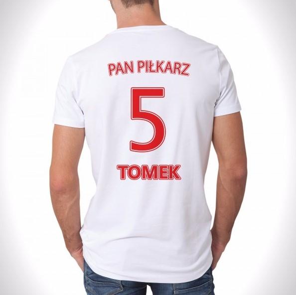 koszulka z nadrukiem na prezent dla taty sportowca