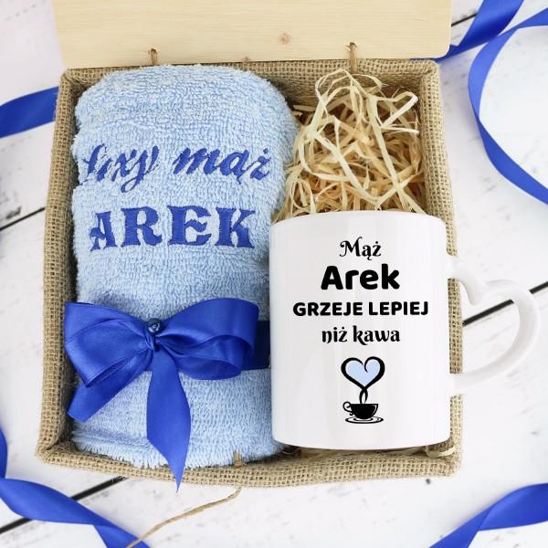 co kupić mężowi na rocznicę ślubu zestaw prezentowy w skrzynce z personalizacją
