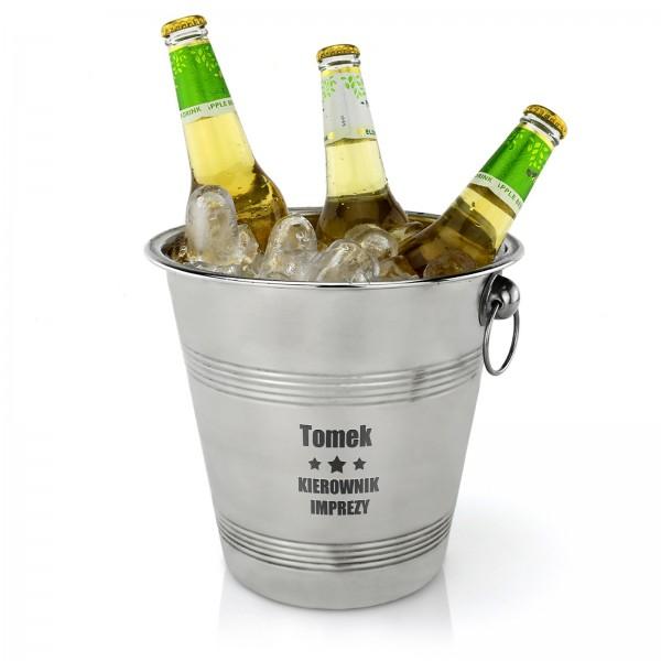 cooler do piwa z imieniem na prezent dla brata z okazji urodzin