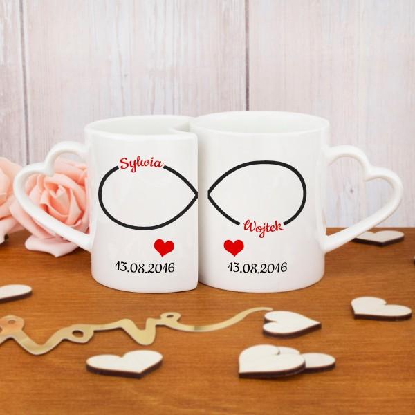 oryginalne kubki z personalizacją na prezent dla pary