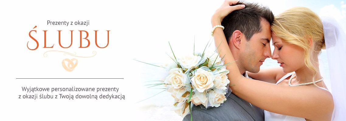 Personalizowane prezenty z grawerem lub dowolnym nadrukiem na ślub
