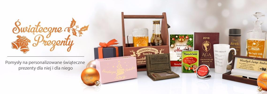 Spersonalizowane prezenty na Boże Narodzenie