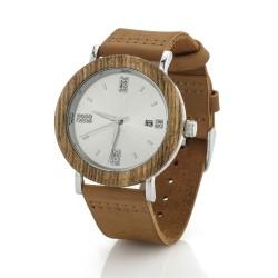 drewniany zegarek na prezent dla żony na mikołajki