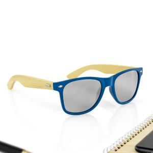 niebieskie okulary przeciwsłoneczne na prezent dla męża na urodziny
