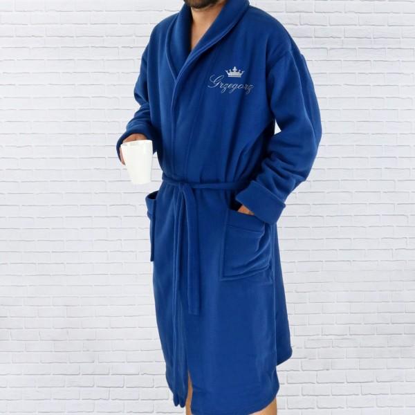 0021c52fd43dcd Szlafrok męski, prezent z haftowaniem, personalizacja