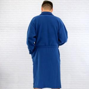 prezent dla mężczyzny granatowy szlafrok męski długi