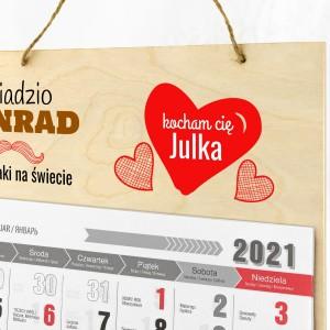 kalendarz personalizowany na dzień dziadka