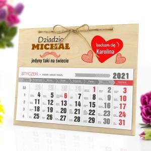 kalendarz 2021 na ścianę