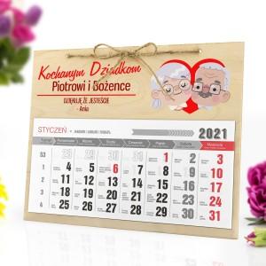 kalendarz ścienny personalizowany 2021