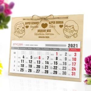 kalendarz personalizowany 2021