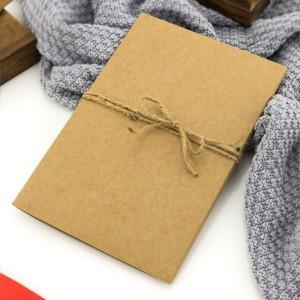 koperta Eko Kraft na magnes na prezent dla babci