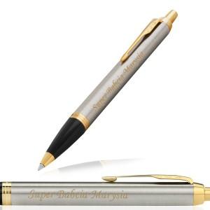 grawer personalizacji na długopisie Parker na prezent na dzień babci