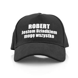 czapka z nadrukiem dla dziadka