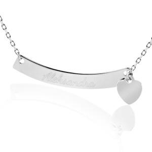 Grawerowana bransoletka z imieniem na prezent dla żony