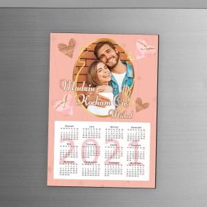 kalendarz magnes 2021 ze zdjęciem