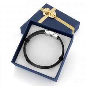 bransoletka skórzana na prezent dla mężczyzny