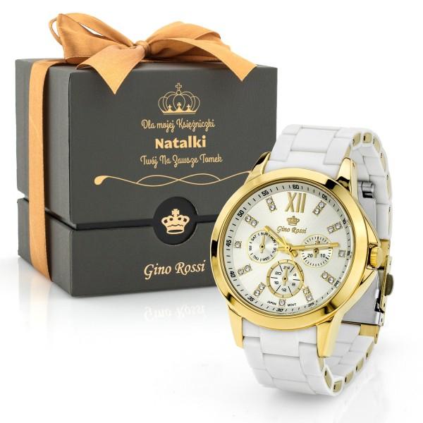 Elegancki spersonalizowany zegarek damski Gino Rossi