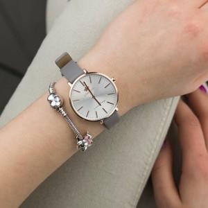 damski zegarek skórzany