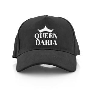 damska czapka z daszkiem z nadrukiem  personalizacji
