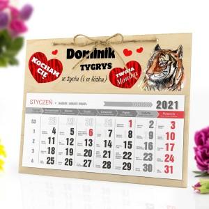 kalendarz personalizowany z nadrukiem na 2021 rok