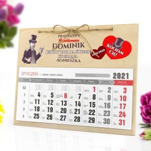 kalendarz personalizowany 2021 z nadrukiem
