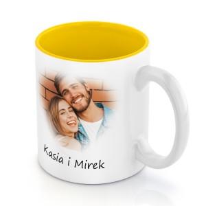 Kubek ceramiczny ze zdjęcia