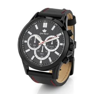 zegarek męski skórzany z grawerem