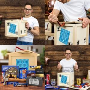 box upominkowy dla dziadka