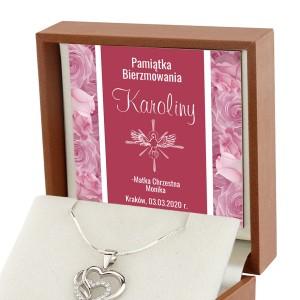 prezent na bierzmowanie dla dziewczyny naszyjnik ze srebra