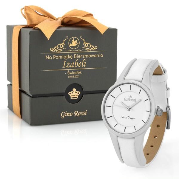 zegarek damski gino rossi z grawerem