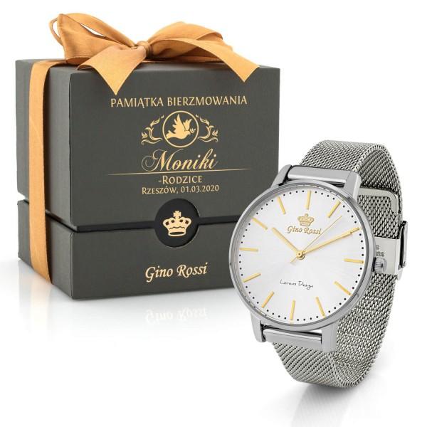 zegarek damski w personalizowanym etui