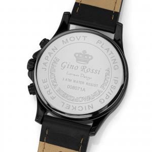 skórzany męski zegarek gino rossi z grawerem
