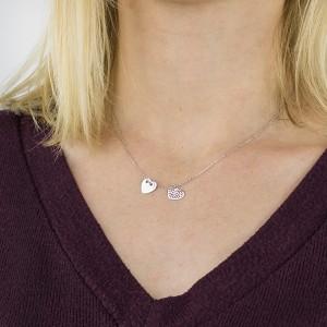 Srebrny naszyjnik dla kobiety na pamiątkę bierzmowania