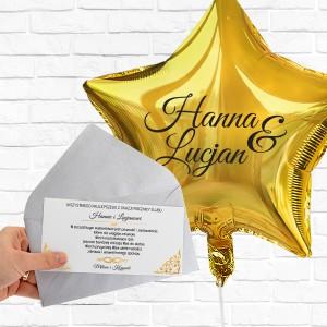 personalizowany bilecik z dedykacja z okazji rocznicy ślubu