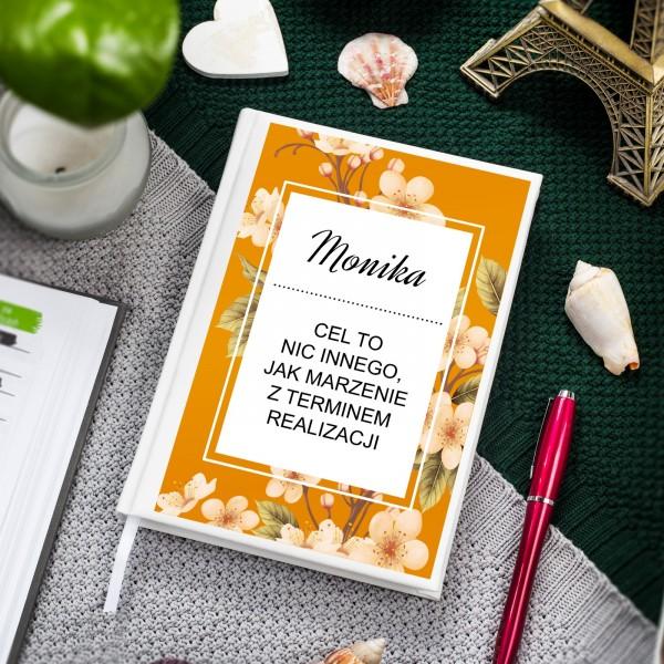 Personalizowany planer kalendarz organizer z nadrukiem