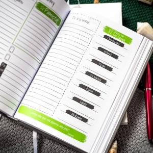 planer kalendarz - środek
