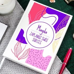 Imienny planer kalendarz dla kobiety