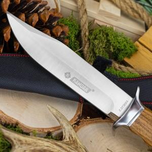 nóż myśliwski kandar z grawerem imienia na prezent dla mężczyzny