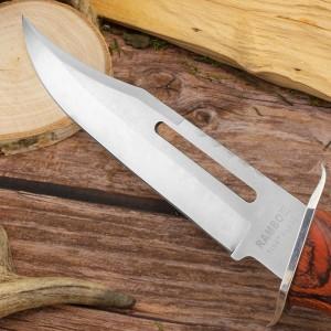 Nóż w etui z grawerem dedykacji - stylizowany na rambo