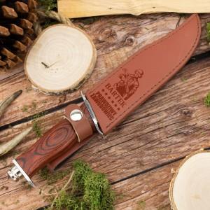 nóż z grawerem na prezent dla wojskowego