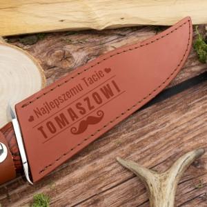 nóż rambo z grawerem dedykacji i imienia