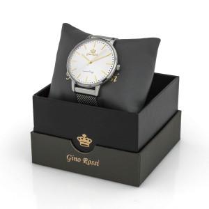 zegarek damski srebrny na bransolecie dla mamy