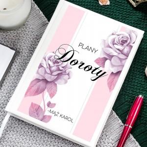 planer z nadrukiem imienia na prezent dla żony