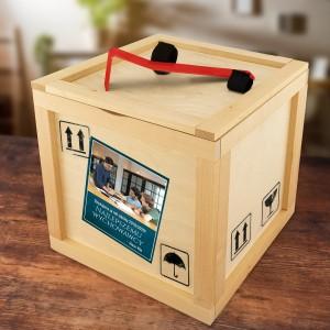 prezent dla nauczyciela - box upominkowy z łomem