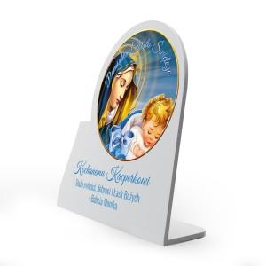 obrazek na pamiątkę chrztu